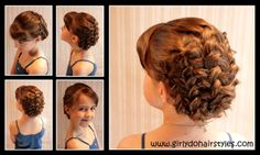Braided up #Hairstyle. Just in time for #prom and #Easter.