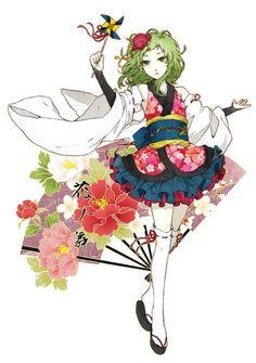 Gumi. | Vocaloid