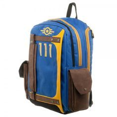 Fallout Vault Tec Suit Up 111 Armored Backpack - Officially Licensed Bethesda Fallout Product - 100% Polyester - Adjustable Padded Straps - One Size Fits Most - Includes Laptop Compartment & Lots of P