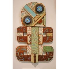 Image result for tony Harrington tiki Found Object Art, Art Object, Flax Weaving, Maori Designs, New Zealand Art, Nz Art, Maori Art, Kiwiana, Environmental Design