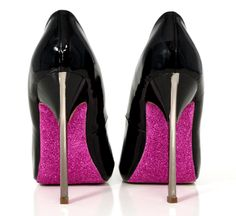 how to glitter the soles of heels