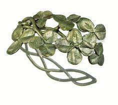 Silver Seasons - Michael Michaud - Clover Cuff Bracelet | SattvaGallery.com