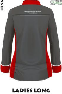 Contact Us August 2018 Baju Korporat Terkini 03 6143 5225 at Creeper Creative . Corporate Shirts, Corporate Uniforms, The Office Shirts, Work Shirts, Trending On Pinterest, Uniform Design, Shirt Embroidery, Shirt Mockup, Cheap Shirts