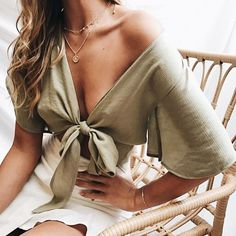dressy womens fashion that looks great 42145 Plaid Fashion, Green Fashion, Look Fashion, Girl Fashion, Fashion Outfits, Womens Fashion, Fashion Fashion, Trendy Outfits, Summer Outfits