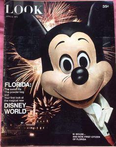 Disney Magic, Disney Art, Walt Disney World, Disney Stuff, Disneyland Tickets, Vintage Disneyland, First Citizens, Florida Images, Pre Opening