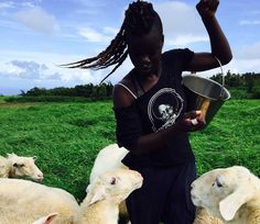 On becoming 'a farmer'. Ayoung woman is finding it difficult to give people the answer they're looking for.