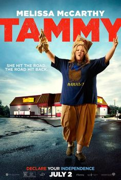 Melissa McCarthy is doing all kinds of crazy cool stunts in these poster for her new film, TAMMY (watch the trailer), I think it's awesome that Melissa keeps playing extra cocky over the top …