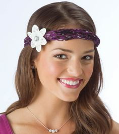 Flower Headband DIY Headband Hair Jewelry