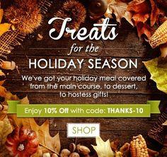 Treats for the Holiday Season  https://freshpickeddeals.com/gourmetgiftbaskets.com/treats-for-the-holiday-season-739940