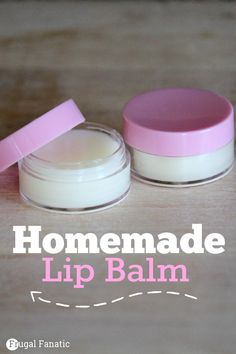 Save money by making your own homemade lip balm.
