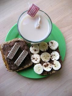 Nachgekocht: Manneraufstrich und Banane zum Frühstück