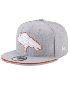 NEW ERA DENVER BRONCOS HEATHER HOT 9FIFTY SNAPBACK CAP.  newera   Denver  Broncos fa345ec42cd