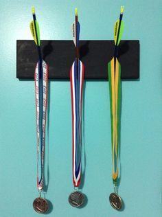 Archery medal board