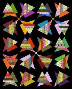 RADIOACTIVE Quilt-Addicts Patchwork Quilt Pattern