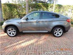 2013 BMW X6 xDrive35i lease $899 per month