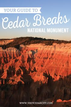 Home to curious wildlife and ancient Bristlecone pines, time seems to stand still at Cedar Breaks National Monument and that's really not a bad thing. #VisitCedarCity
