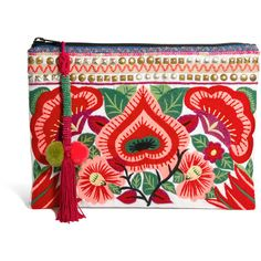 ASOS Clutch Bag With Floral Embroidery and other apparel, accessories and trends. Browse and shop 8 related looks.