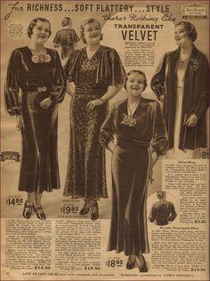 NewVintageLady:Lane Bryant 1932
