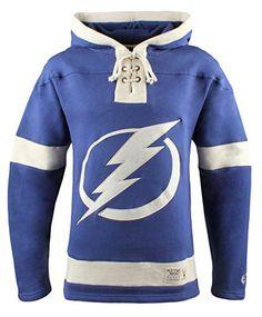 NHL Tampa Bay Lightning Men's Lacer Heavyweight Hoodie, Large, Dark Royal