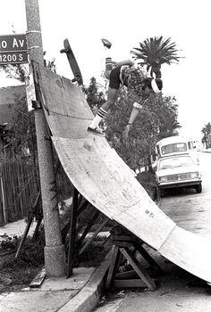 Skateboarder .. vintage skateboard #ramp