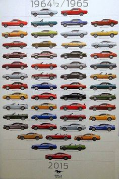 Image result for mustang chart