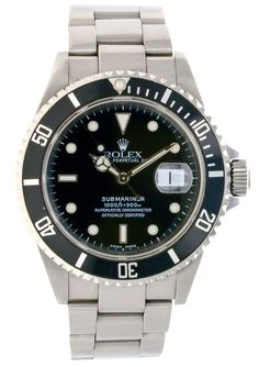 Rolex Submariner 16610 Stainless Steel Bracelet (wrist size: inches) Stainless Steel Bezel (case size: Black Dial men watch is in Excellent conditio Stainless Steel Rolex, Stainless Steel Bracelet, Rolex Watches, Watches For Men, Rolex Submariner 16610, Men Watch, Bracelets, Accessories, Black