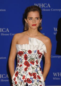 You Have to See What Emma Watson Wore to Meet President Obama