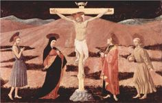 Christ on cross - Paolo Uccello