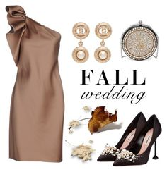 """""""Fall Wedding"""" by conch-lady ❤ liked on Polyvore featuring Lanvin, Alexander McQueen, Chanel and fallwedding"""