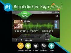 Reproductor Flash Player AACPlus #1 PREMIUN ORIGINAL de alta calidad en AUDIO EN VIVO, compatible con todos los navegadores de internet. - www.surdatanet.net - www.moqueguahost.com - www.surdatacenter.com