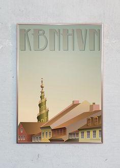 Plakaten er designet af Visse Vasse og er én i rækken af mange forskellige motiver fra Visse Vasse. JS giver altid FRI FRAGT til alle adresser i Danmark