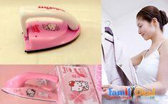 Bàn ủi mini Hello Kitty - FamilyDeal.vn