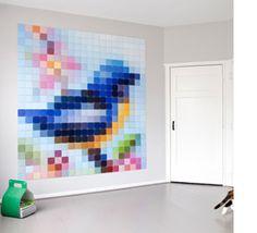 Maak je eigen muurdecoratie met een uniek systeem