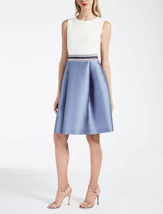 Max Mara KAFIR mauve: Duchesse dress.