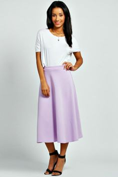 Arianna Full Circle Midi Skirt