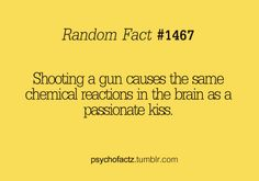 That's why I love shooting guns.