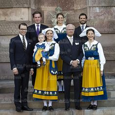 Swedish Royal Family attend a concert for National Day celebrate