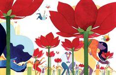 Ilustração da capa de 'How to be Happy' (Foto: Reprodução/Eleanor Davis)