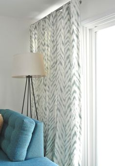 A Stylish Window Treatment for Sliding Doors | Centsational Girl