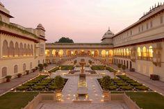 L'hôtel Rajmahal Palace à Jaipur en Inde