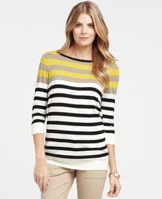 Multicolored stripes.