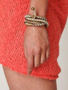 wrap bracelet, $78
