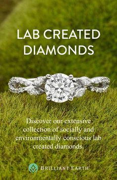 [ad] Lab created diamonds are an increasingly popular option for couples choosing an engagement ring. They offer exceptional beauty, excellent value, and are an eco-friendly alternative. Jewelry Rings, Jewelery, Jewelry Accessories, Jewellery Box, Bling Jewelry, Lab Created Diamonds, Lab Diamonds, Lab Created Diamond Rings, Brilliant Earth