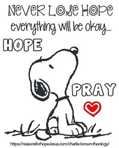 """There is power in prayer. / snoopy / peanuts gang / have faith. It keeps me going every morning that I wake up. The rapture: """"looking for the blessed hope and glorious appearing of our great God and Saviour Jesus Christ"""". Bible Quotes, Bible Verses, Quotes Quotes, Daily Quotes, Scriptures, Qoutes, Words Of Wisdom Quotes, Peanuts Quotes, Snoopy Quotes Love"""