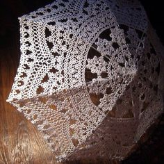 Tatting Oh my! That would take forever but would look fab with my dressess Shuttle Tatting Patterns, Needle Tatting Patterns, Lace Umbrella, Lace Parasol, Tatting Jewelry, Tatting Lace, Crochet Doilies, Crochet Lace, Lace Patterns
