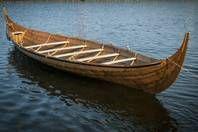 Gokstad boat is launched - Vikingeskibsmuseet Roskilde