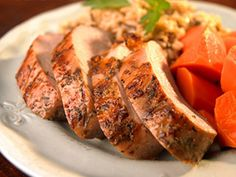 Garlic-Herb Pork Tenderloin