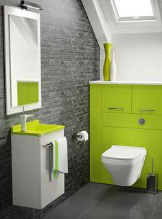 Ambiance bain - Mambo Ce lave-mains de faible dimension offre une vasque profonde avec remontée arrière et une poignée porte-serviettes. Ouverture droite ou gauche. Hauteur : 58 cm - Profondeur : 26 cm Largeur : 40 cm
