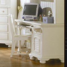 American Woodcrafters Cottage Traditions Computer Desk with Keyboard Tray & Reviews | Wayfair Supply