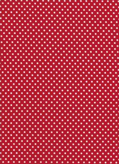 Lecien 4505  red polka dots by DonnasLavenderNest on Etsy, $2.50